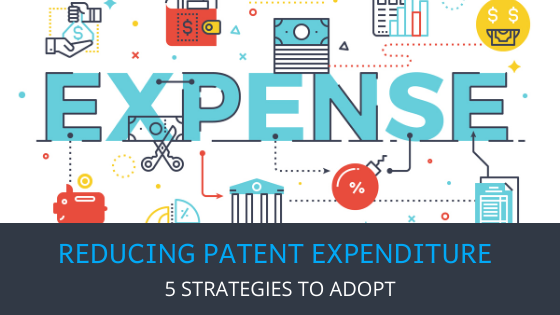 5 Strategies to Reduce Patent Expenditure