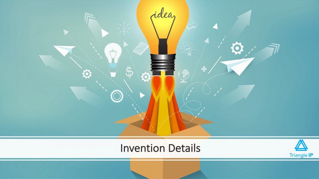 Invention Details | Fields in an Invention Disclosure Form